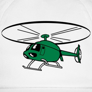 Flying Helicopter Helicopter T-Shirts - Baseball Cap