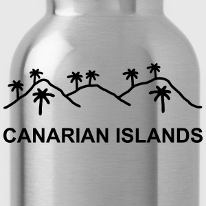 Canarian Islands T-Shirts - Trinkflasche