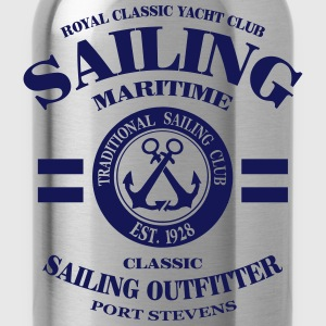 Maritime Sailing  Aprons - Water Bottle