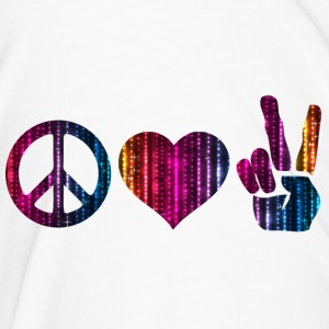 Peace Love and Peace Beer Mug - Men's Premium T-Shirt