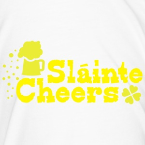 Slainte cheers St.Patrick's day Beer Mug - Men's Premium T-Shirt