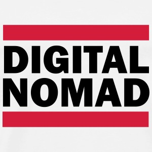 Digital Nomad Tops - Men's Premium T-Shirt