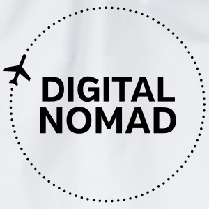 Digital Nomad Tank Tops - Drawstring Bag