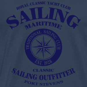 Maritime Sailing Tank Tops - Men's Premium T-Shirt