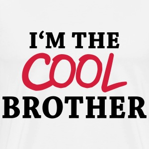 I'm the cool brother Skjorter med lange armer - Premium T-skjorte for menn