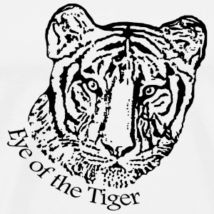 Eye of the Tiger - Männer Premium T-Shirt