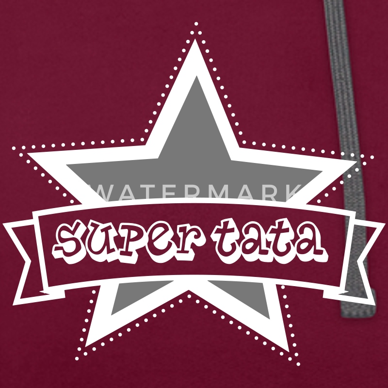 super tata Sweat-shirts - Sweat-shirt contraste