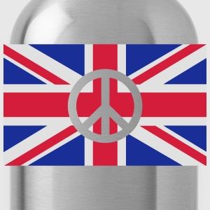 Peace Sign Union Jack, Union Jack Tabliers - Gourde