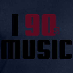 I Love 90s Music T-Shirts - Men's Sweatshirt by Stanley & Stella
