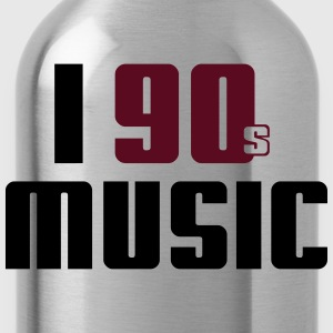 I Love 90s Music T-Shirts - Water Bottle