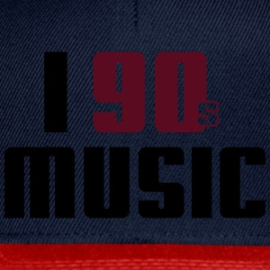 I Love 90s Music Shirt - Snapback Cap