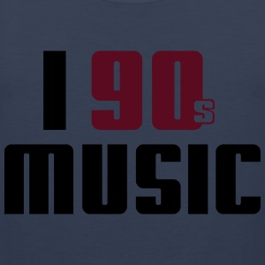 I Love 90s Music T-shirts - Mannen Premium tank top