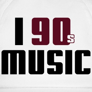 I Love 90s Music T-Shirts - Baseball Cap