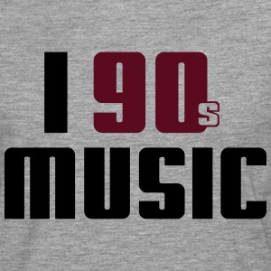 I Love 90s Music Tee shirts - T-shirt manches longues Premium Homme