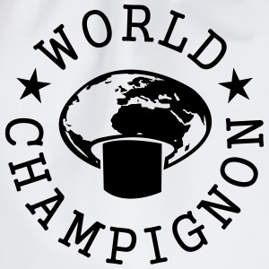 World Champignon T-shirts - Sportstaske