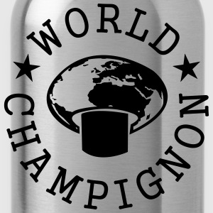World Champignon T-shirts - Vattenflaska
