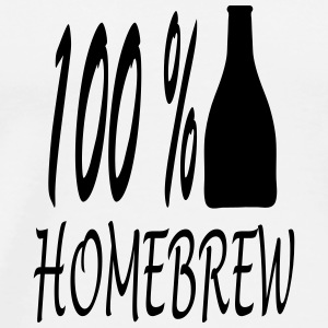 homebrew_100_ba1 Mugs & Drinkware - Men's Premium T-Shirt