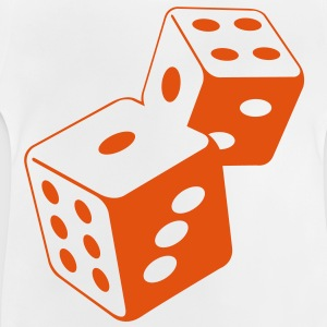 Two dice at the casino Hoodies - Baby T-Shirt
