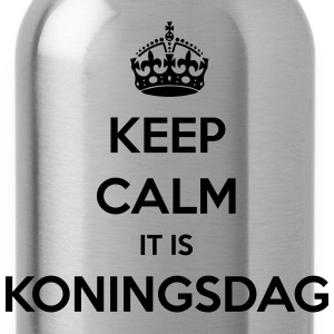KEEP CALM IT IS KONINGSDAG T-shirts - Drinkfles
