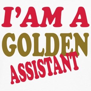 I'am a golden assistant 111 T-shirts - Långärmad premium-T-shirt herr