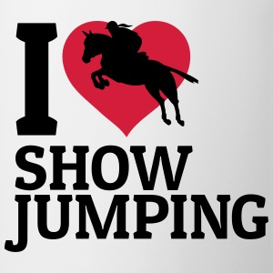 I love showjumping Bags & Backpacks - Mug