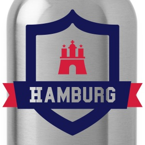 Hamburg College badge Long Sleeve Shirts - Water Bottle