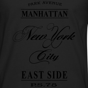 New York City T-shirts - Långärmad premium-T-shirt herr