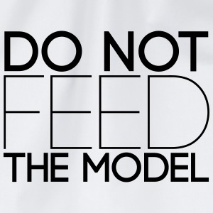 Do not feed the model T-Shirts - Turnbeutel