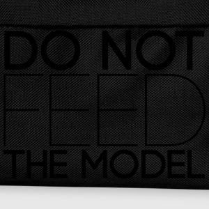 Do not feed the model Langarmshirts - Kinder Rucksack