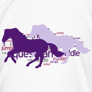Horse Word Cloud Mugs & Drinkware - Men's Premium T-Shirt