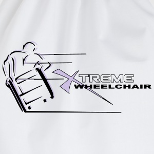 Xtreme wheelchair  T-Shirts - Turnbeutel