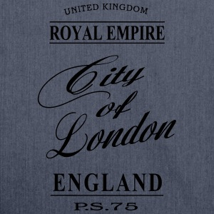 City of London Langarmshirts - Schultertasche aus Recycling-Material