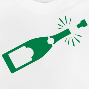 A bottle of champagne Long Sleeve Shirts - Baby T-Shirt