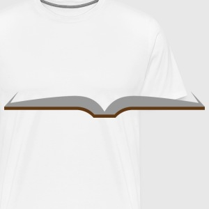 Opened book Mugs & Drinkware - Men's Premium T-Shirt