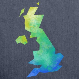 Map UK T-Shirts - Shoulder Bag made from recycled material