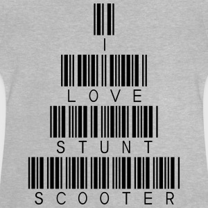 i love Stunt Scooter T-Shirts - Baby T-Shirt