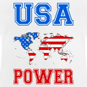 usa world power Shirts - Baby T-Shirt