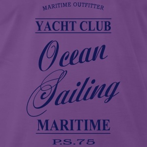 Maritime Ocean Sailing Tops - Men's Premium T-Shirt