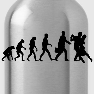 Evolution of Mens Tango T-Shirts - Trinkflasche