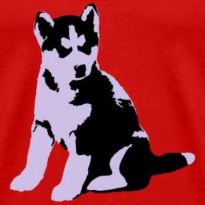 HuskyJunior  Long Sleeve Shirts - Men's Premium T-Shirt