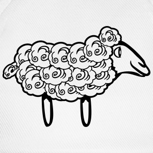 SHEEP natural wool T-Shirts - Baseball Cap