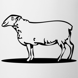 SHEEP natur T-skjorter - Kopp