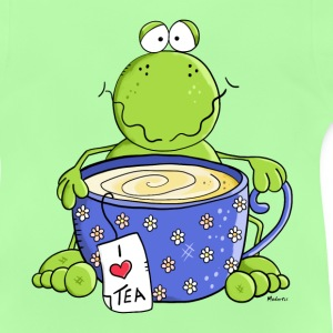 Tea Time Frosch Pullover & Hoodies - Baby T-Shirt
