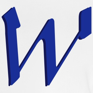 W, Buchstaben, Letters, Initialen Shirts - Baby T-Shirt