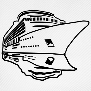 ship vacation travel cruise navigation T-Shirts - Baseball Cap