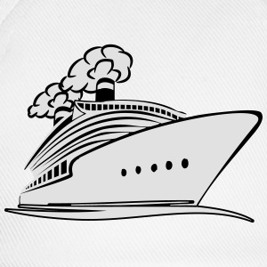 travel steamer ship vacation T-Shirts - Baseball Cap