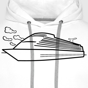 Ship sea cruise vacation T-Shirts - Men's Premium Hoodie