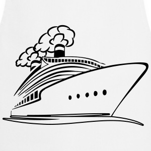 travel steamer ship vacation T-Shirts - Cooking Apron
