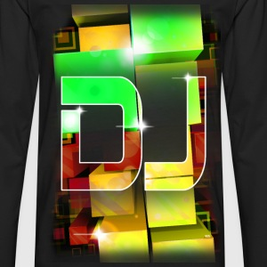 T SHIRT OFFICIAL DJ by Florian VIRIOT - T-shirt manches longues Premium Homme