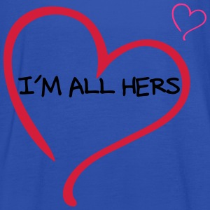 Couple I am all Hers T-Shirts - Women's Tank Top by Bella